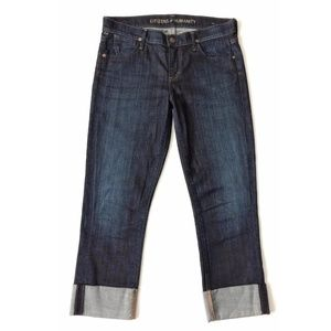 Citizens Of Humanity Jeans Cropped Capri Cuffed
